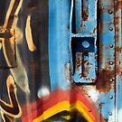 Blue Latch by Lisa G. Putman