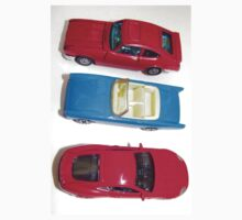 red and blue toy cars One Piece - Short Sleeve