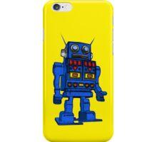 Blu Bot Yellow iPhone Case/Skin