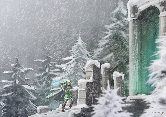 Snow Temple by pertheseus