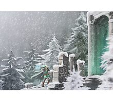 Snow Temple Photographic Print