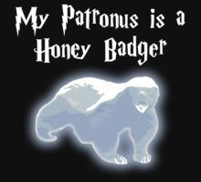 My Patronus is a Honey Badger Baby Tee