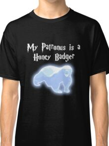 My Patronus is a Honey Badger Classic T-Shirt