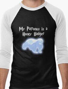 My Patronus is a Honey Badger Men's Baseball ¾ T-Shirt