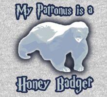 My Patronus is a Honey Badger Kids Tee