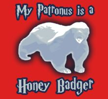 My Patronus is a Honey Badger Kids Clothes