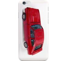 red toy car  iPhone Case/Skin
