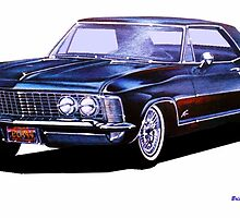 1963 Buick Riviera by brianrolandart