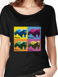 Warhol Style Honey Badger Women's Relaxed Fit T-Shirt