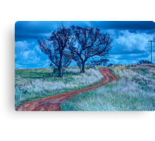 The Journey - Cootamundra, NSW - The HDR Experience Canvas Print