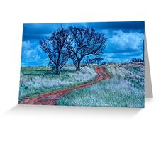 The Journey - Cootamundra, NSW - The HDR Experience Greeting Card