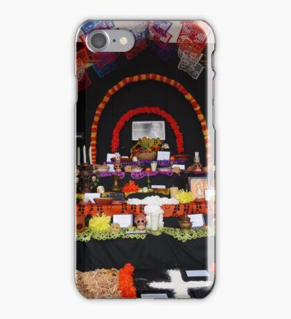 altar for the dead - altar por el muerto iPhone Case/Skin