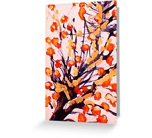 Cherry Blossoms, watercolor Greeting Card