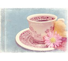 A cup of memories Photographic Print