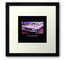 1961 Cadillac Eldorado Biarritz Convertible ver 2 Framed Print