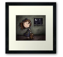 Hollow Framed Print