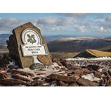 The Summit of Pen Y Fan, Brecon Beacons Photographic Print