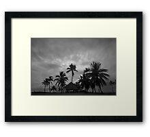 Chapel amongst the palm trees Framed Print