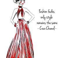Chanel quote by melissacorsari