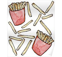 French Fries are awesome  Poster