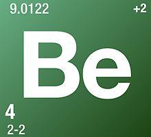 Element Beryllium by Defstar