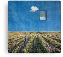 Big Blue Canvas Print
