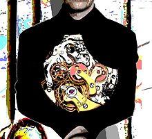 Fronz Arp - Robot Bowler Hat Guy by Fronz  Arp