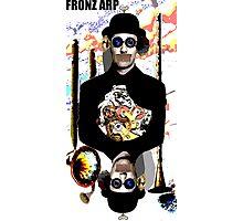 Fronz Arp - Robot Bowler Hat Guy Photographic Print