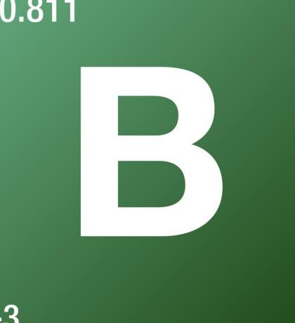 Element Boron Sticker