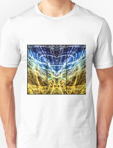 Light Painting Abstract Triptych #1 T-Shirt
