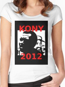 KONY 2012 Stop the Madness Women's Fitted Scoop T-Shirt