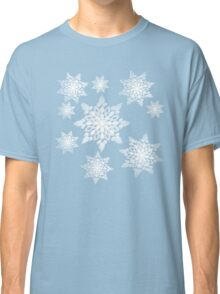 Snowflakes; New Year; Christmas; winter. Classic T-Shirt