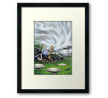The Mist Spinner Framed Print