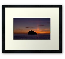 A Summers Sunset at Trebarwith Strand, Cornwall Framed Print
