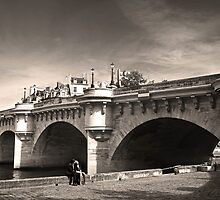 the lovers of the Pont-Neuf by pascal  desvignes