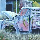 Time Worn Truck by Jaana Day