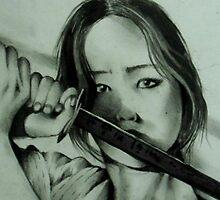 The Assassin ( Mayumi ) by John Dicandia  ( JinnDoW )