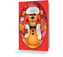Christmas Toy Freddy Greeting Card