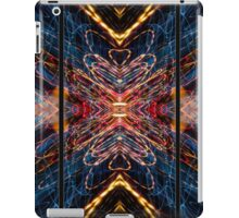 Light Painting Abstract Triptych #5 iPad Case/Skin