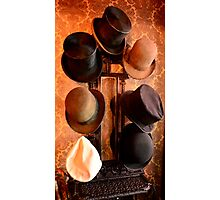 Hat Stand from Monty Cristo. Photographic Print
