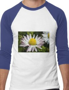 daisy in the garden Men's Baseball ¾ T-Shirt