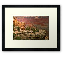 The Grand Grand Canyon - Southern Rim - 8 © Framed Print