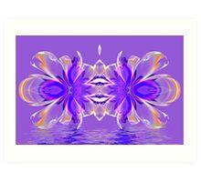Crystal Reflections Art Print