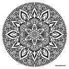 Mandala drawing 10 Prints, Cards & Posters by mandala-jim