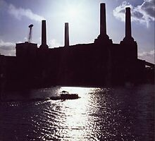 Battersea Power Station, 1983 by Francois Ward