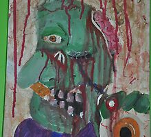 acrylic zombie  by Gpetto420