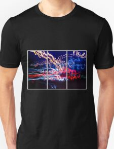 Neon UFA Triptych Number 1 T-Shirt