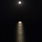 Reflections of the full Moon - Reflecciones de la Luna Llena by PtoVallartaMex