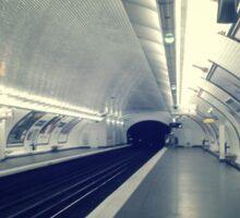 Underneath Paris - The Chemin Vert Train Station Sticker