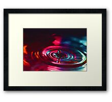 Physics of Water 4 Framed Print